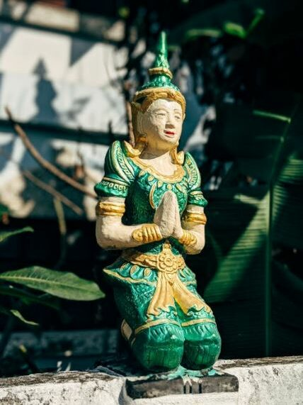 religous statue