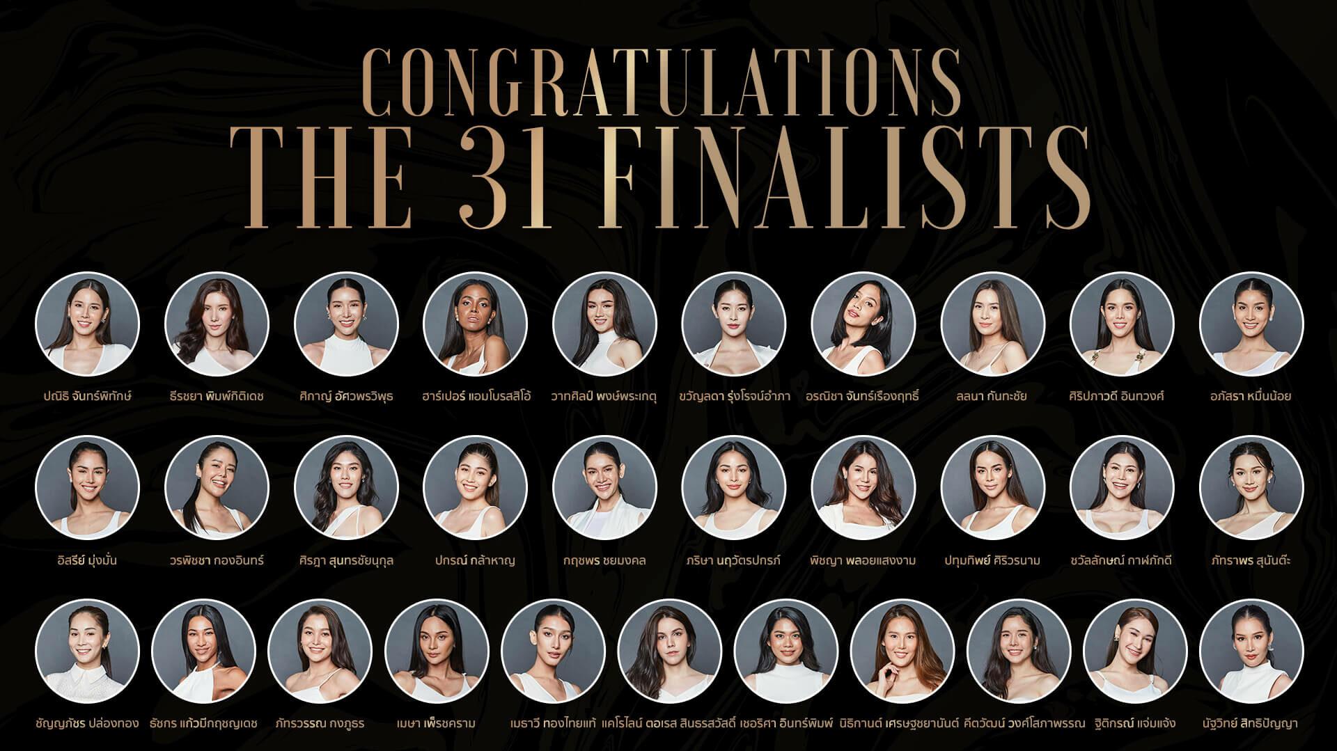 Miss Tiffany Universe 2020 Candidates