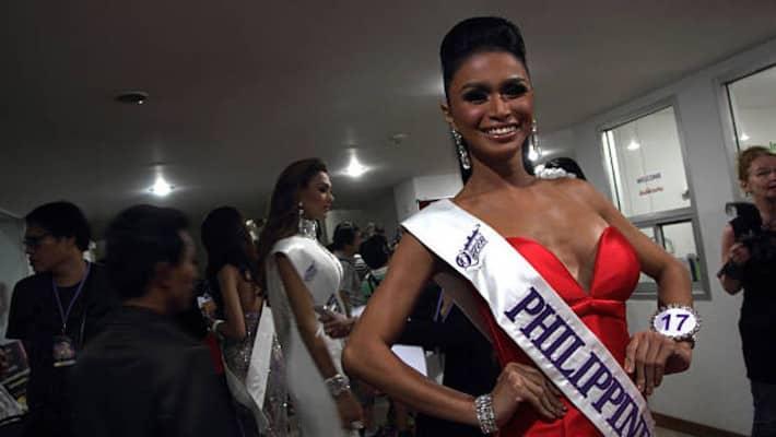 Concours de Beauté de Ladyboy aux Philippines