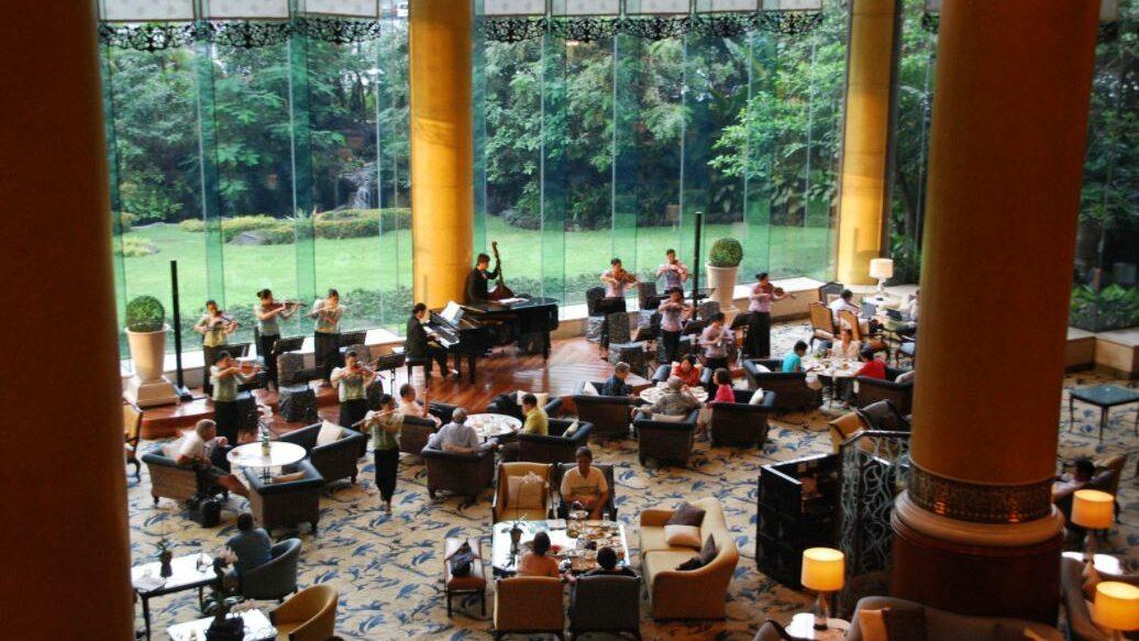 Un Hôtel Restaurant Luxurieux