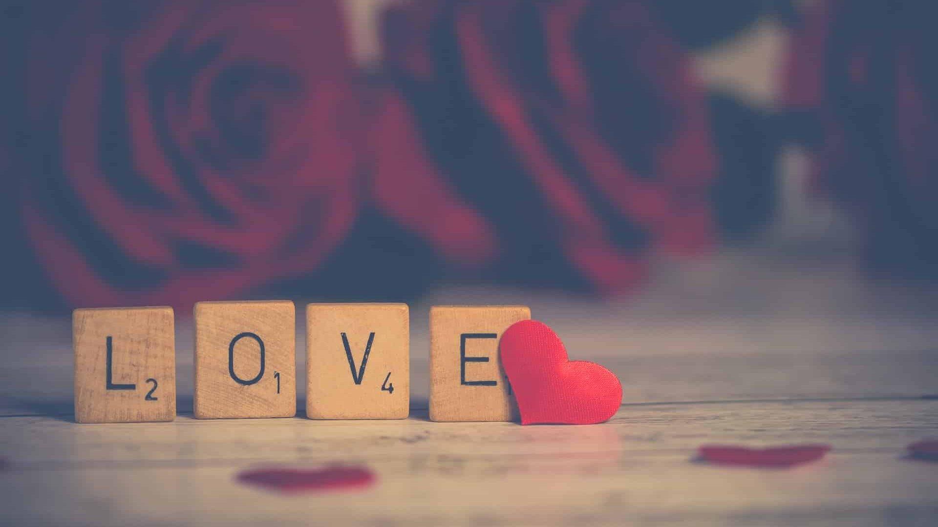 Scrabble mot love